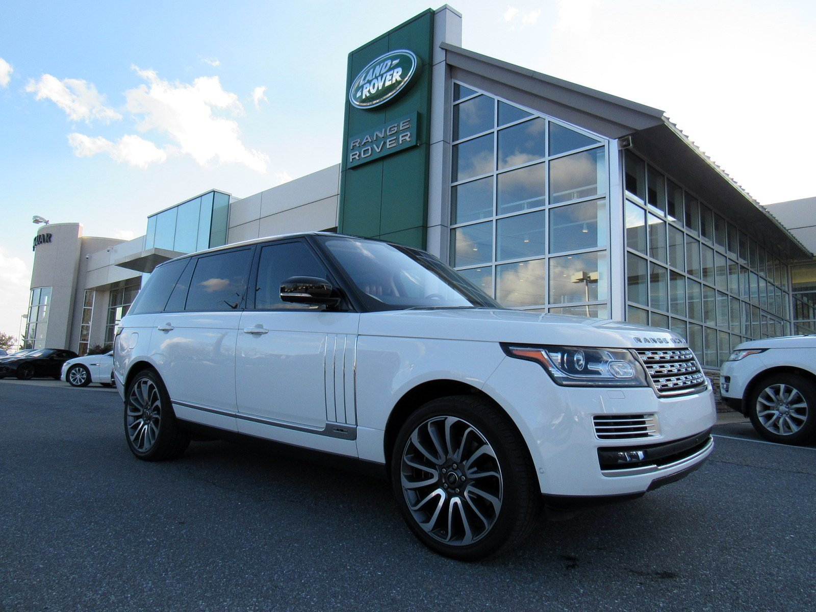 Certified Pre Owned 2016 Land Rover Range Sv Autobiography
