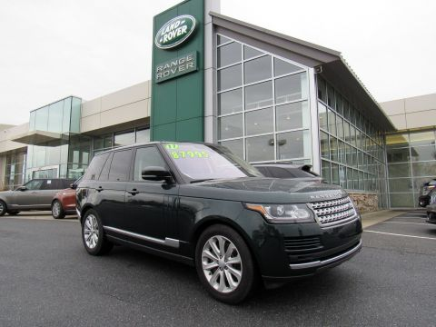 Pre-Owned 2017 Land Rover Range Rover HSE
